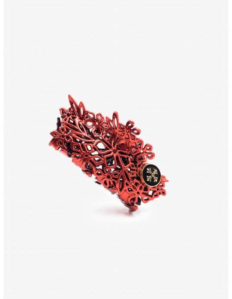 MARYLINE [ Red ] - Pince cheveux bijou de tête Haircraft